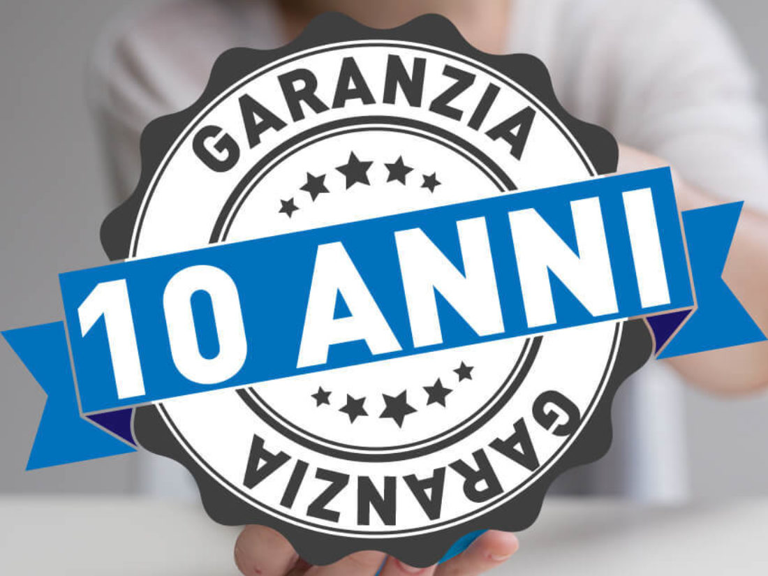10 anni garanzia