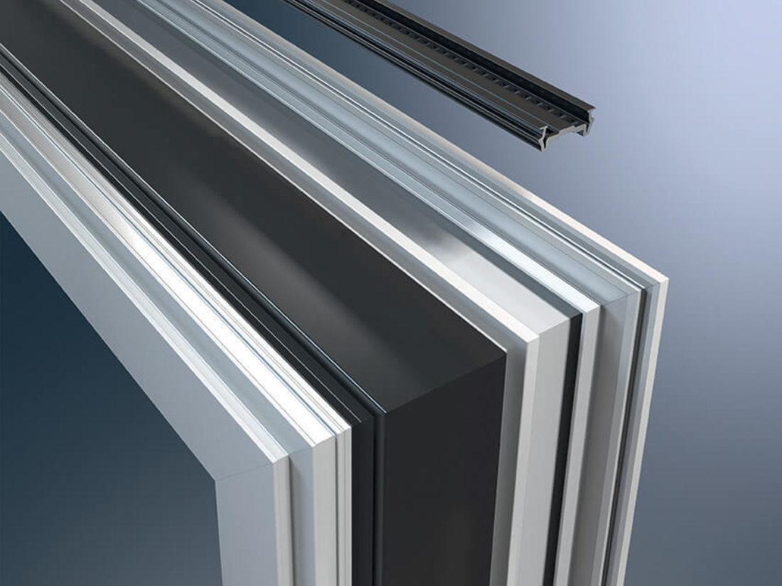 Finestre in alluminio antieffrazione