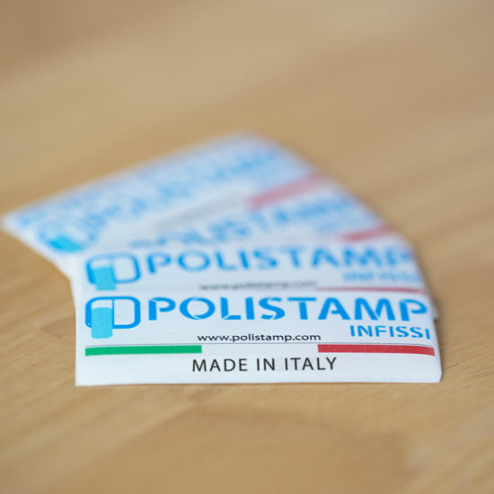 Made in italy polistamp