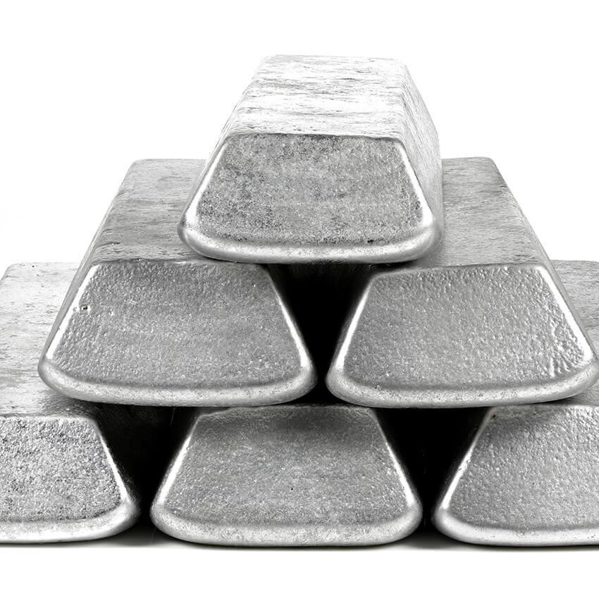 Alluminio riciclabile