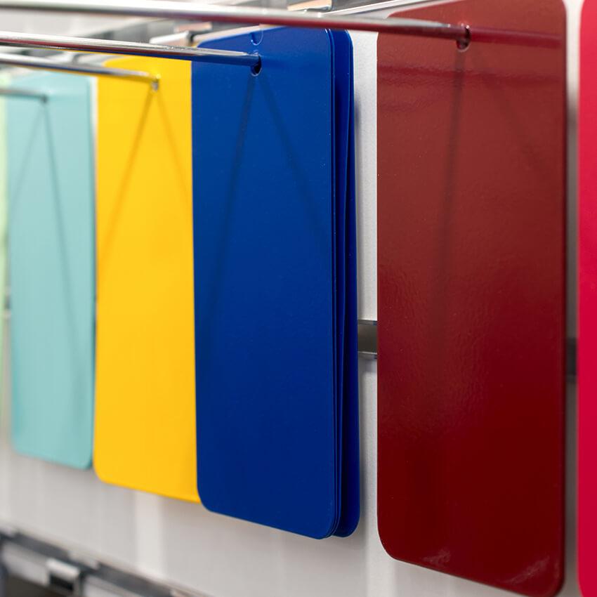 Colori per finestre in alluminio