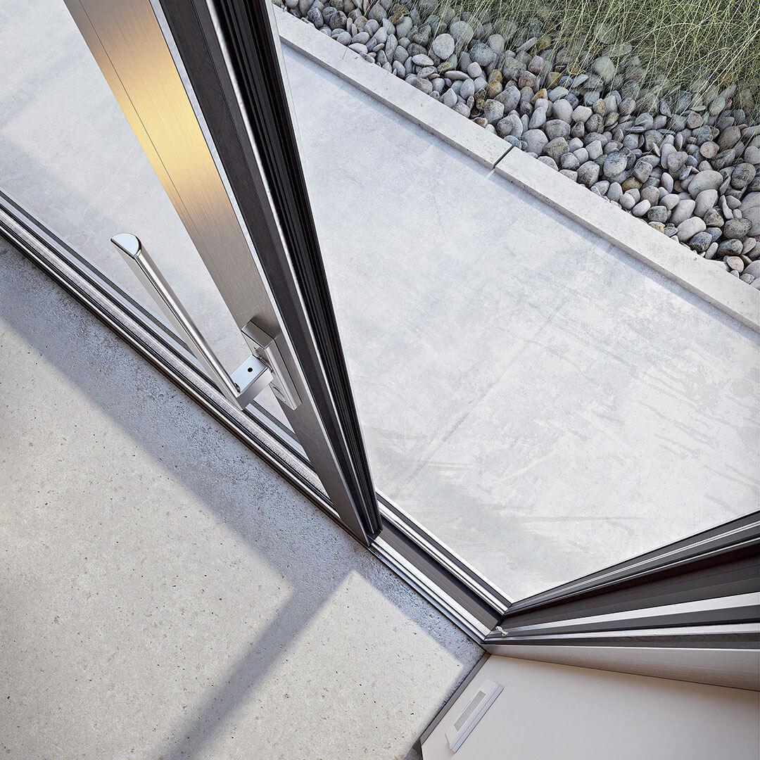 Sistema chiusura finestra antieffrazione